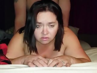 Sexy BBW Gets Fucked into Making Demon Faces